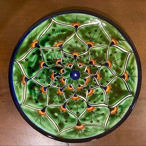 Mexican Tonala Decorative Plate
